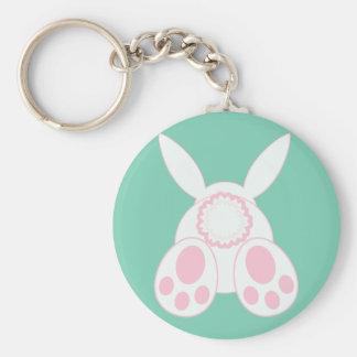 Bunny Behind Keychain