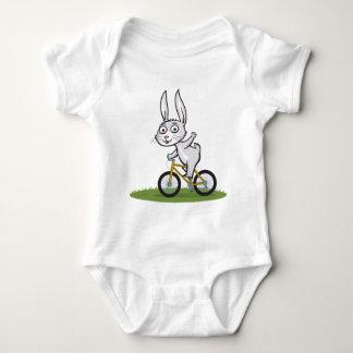 Bunny Biker Baby Bodysuit