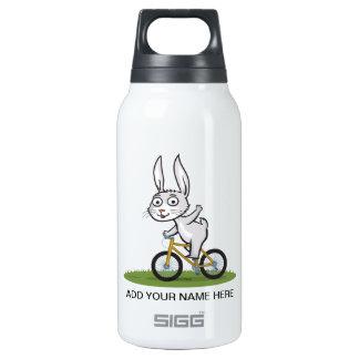 Bunny Biker Insulated Water Bottle