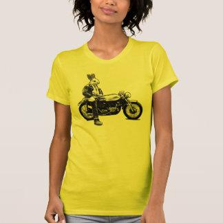 Bunny biker tee shirt