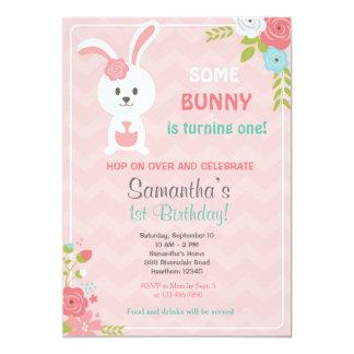Bunny Theme Party Invitations Announcements Zazzle