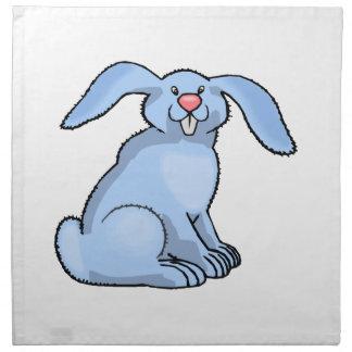 Bunny Blue Napkin