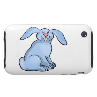 Bunny Blue Tough iPhone 3 Cover