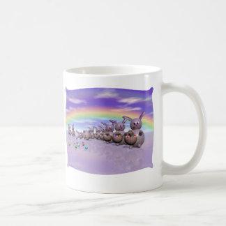 Bunny Bots II Classic White Coffee Mug