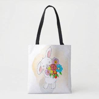 Bunny Bouquet Tote