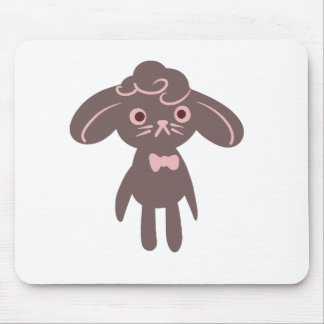 Bunny Bowtie Mouse Pad