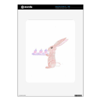 Bunny Brings Out The Cupcakes Skin For The iPad