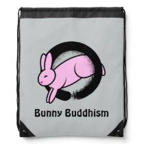 Bunny Buddhism Enso Bunny Backpack