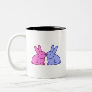 "Bunny Buddhism ""Grateful Bunnies"" Mug"