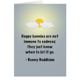 """Bunny Buddhism """"Let It Go"""""""