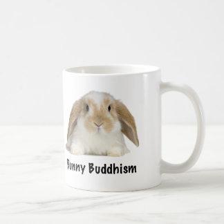 Bunny Buddhism Tagline Mug