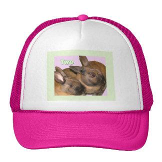 Bunny Bunnies Two Bunnies Trucker Hat