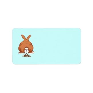Bunny Butt Labels