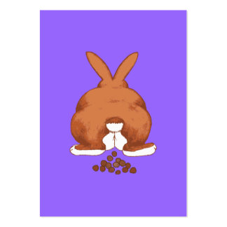 Bunny Butt Large Business Card