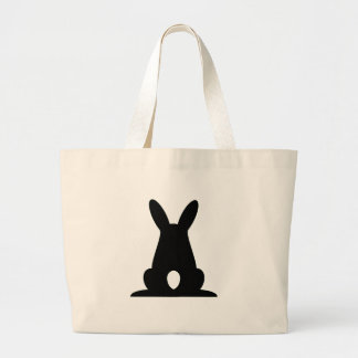 Bunny Butt Large Tote Bag