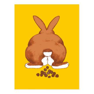 Bunny Butt Postcard