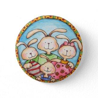 Bunny Button button