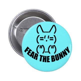 Bunny Button - Blue