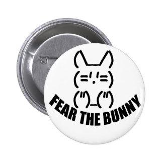 Bunny Button - White