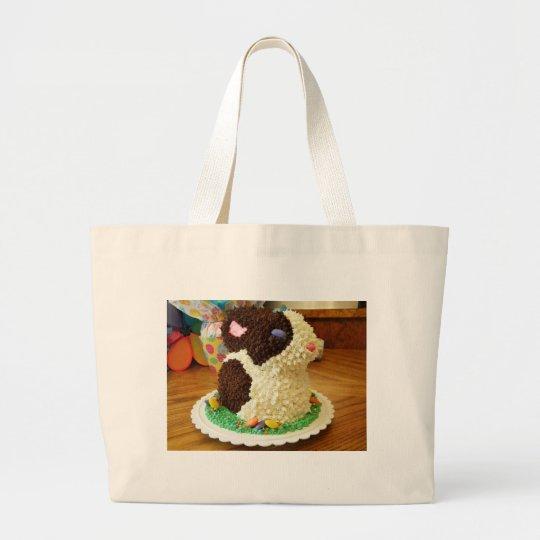 Bunny Cake I Large Tote Bag