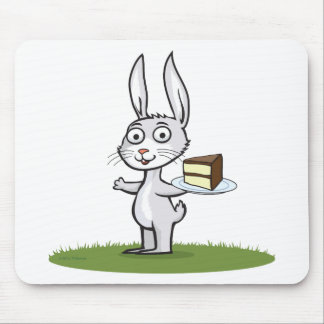 Bunny Cake Mouse Pad