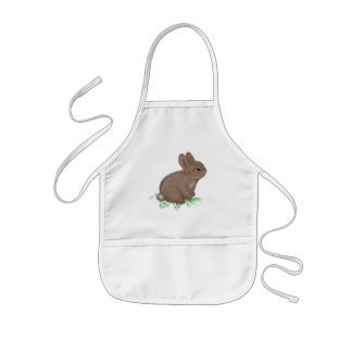 Bunny Caricature Aprons