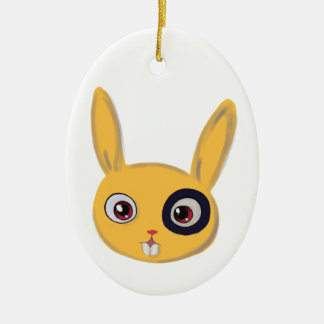 Bunny Ceramic Ornament