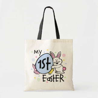Bunny Chickie 1st Easter Budget Tote Bag