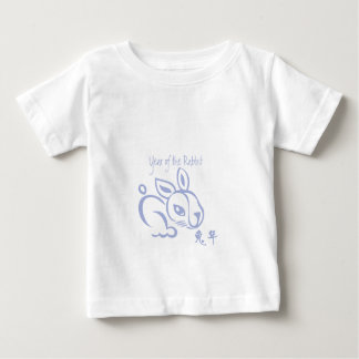 Bunny Chinese New year 2011 -  Year of the Rabbit Baby T-Shirt