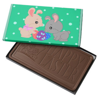 Bunny chocolate - Chocolate happy easter box