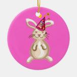 Bunny Christmas party Christmas Tree Ornament