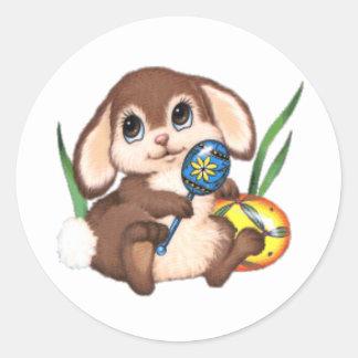 Bunny Classic Round Sticker