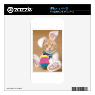 Bunny Claude Skins For iPhone 4S
