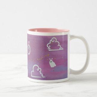 """Bunny clouds"" mug"