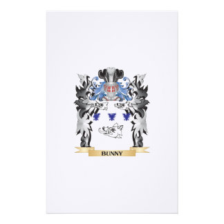 Bunny Coat of Arms - Family Crest Stationery