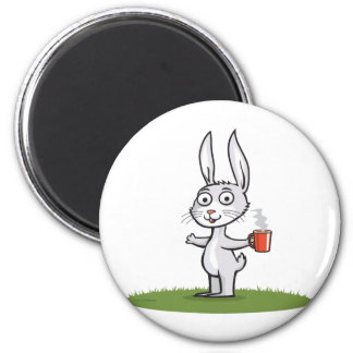 Bunny Coffee Magnet