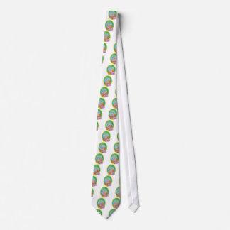 Bunny Coloured-words Tie