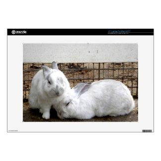 "Bunny Couple 15"" Laptop Decal"