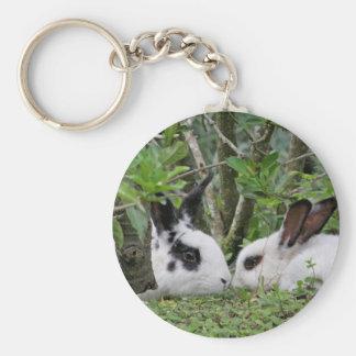 Bunny Couple Keychain