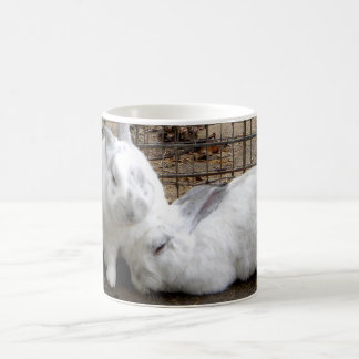 Bunny Couple Classic White Coffee Mug