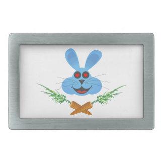 Bunny & Cross Carrots Belt Buckle
