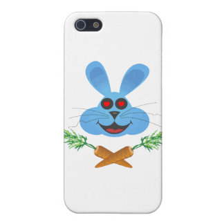 Bunny Cross Carrots Case For iPhone SE/5/5s