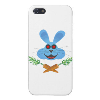 Bunny Cross Carrots iPhone SE/5/5s Case