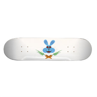 Bunny & Cross Carrots Skateboard Deck