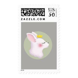 Bunny Crown Postage