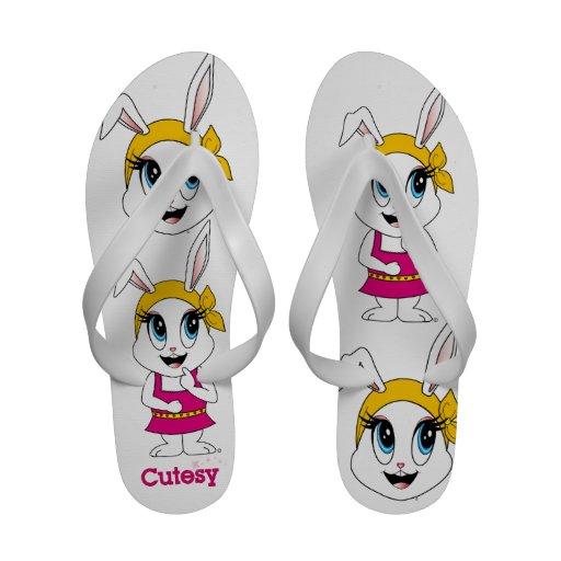 Bunny™ Cutesy Chanclas De Playa