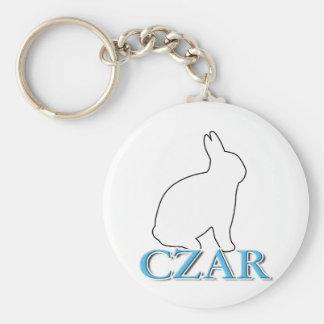 Bunny Czar Keychain