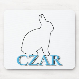 Bunny Czar Mouse Pad