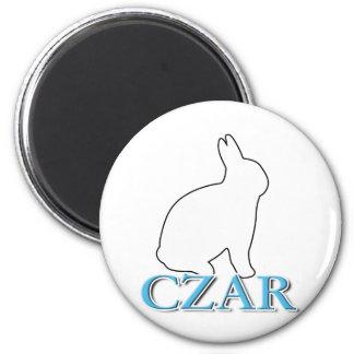 Bunny Czar Refrigerator Magnets