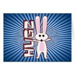Bunny Design Greeting Card